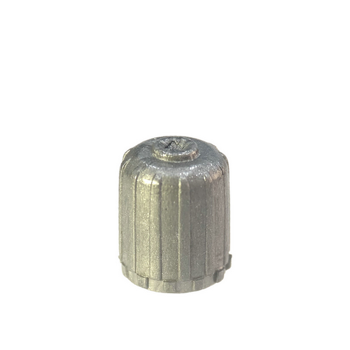 Short Grey Plastic Sealing Valve Cap for TPMS