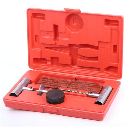 Universal Car and Motorcycle Tubeless Tire Repair Tool Kit
